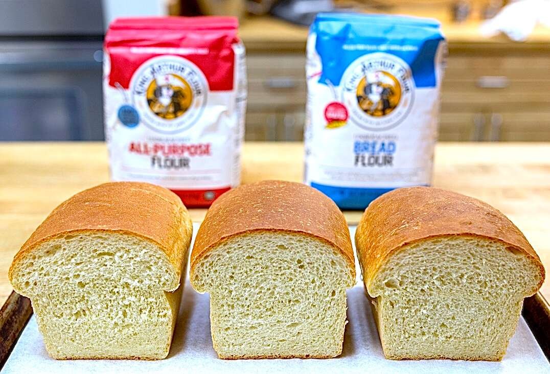 Bread flour via @kingarthurflour