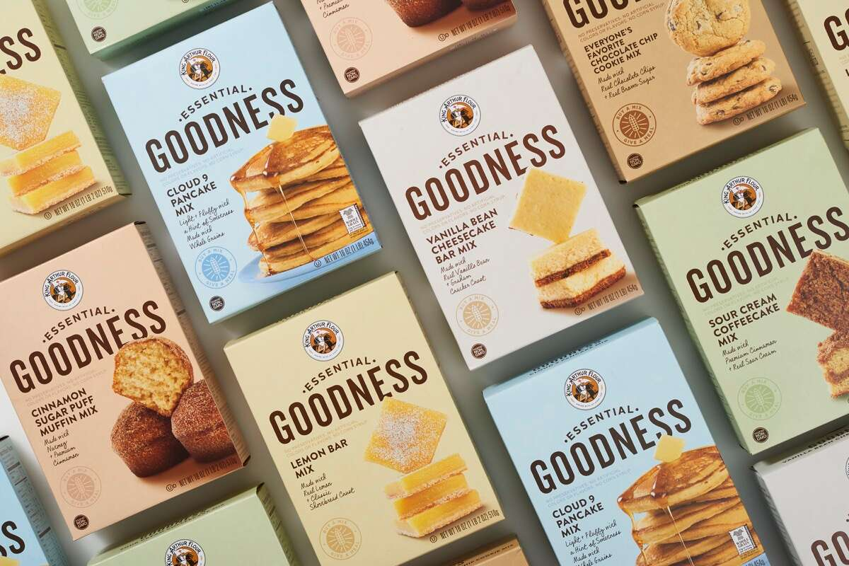 Essential Goodness mixes via @kingarthurflour