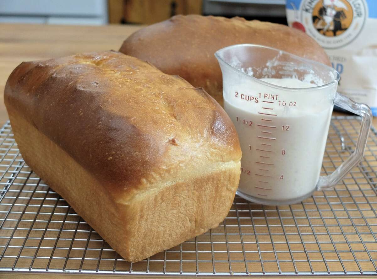 Levain for sandwich bread via @kingarthurflour