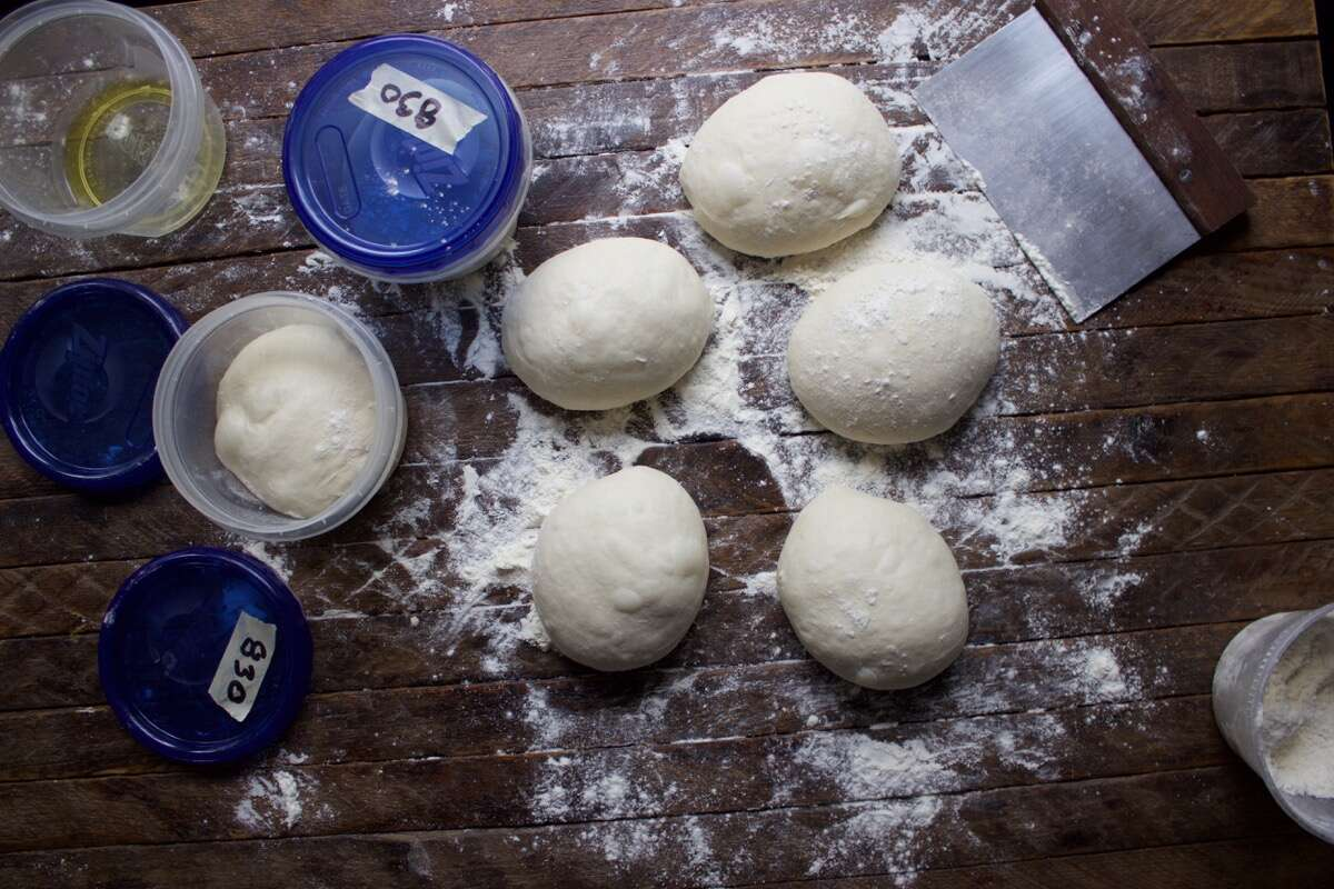 How to make baking steel pizza dough via @kingarthurflour