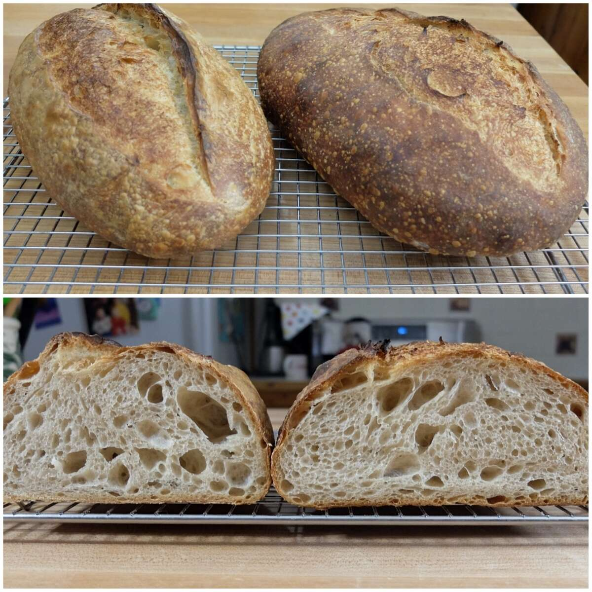 Steam in bread baking via @kingarthurflour