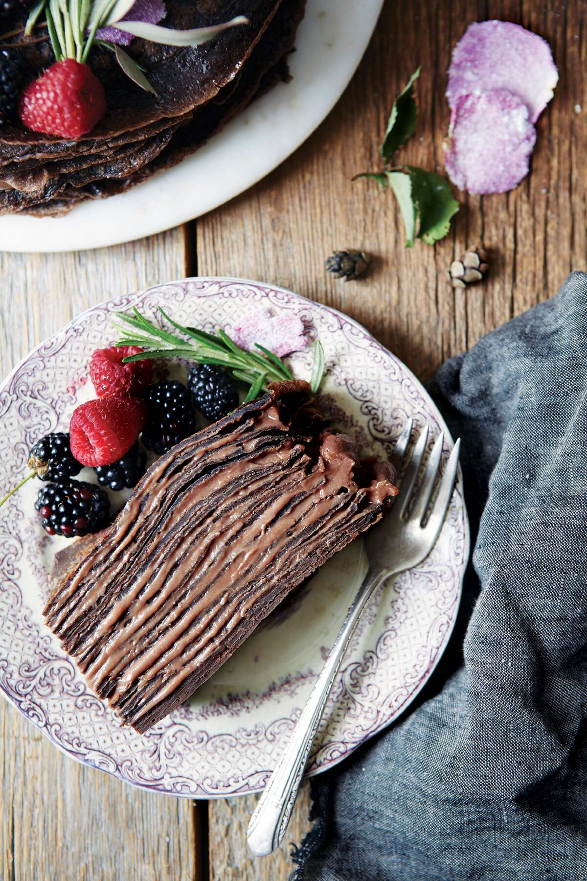 creative crêpe recipes chocolate via@kingarthurflour