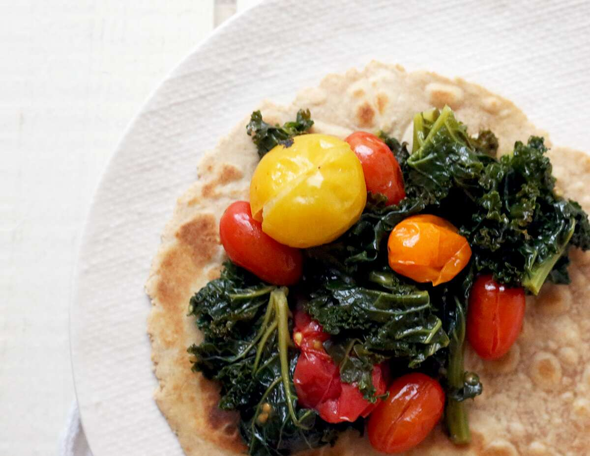 Sprouted Wheat Flatbread via @kingarthurflour