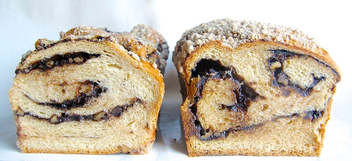 Chocolate Babka Bakealong via @kingarthurflour