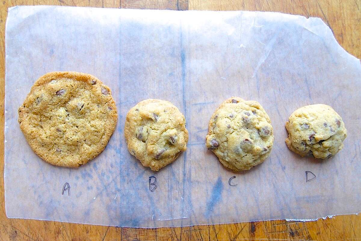 How to reduce sugar in cookies and bars via @kingarthurflour