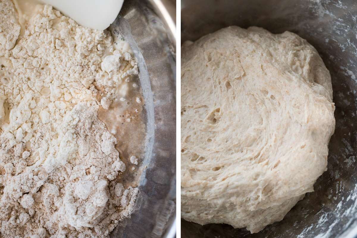 How To Make Fresh Milled Spelt Sourdough via @kingarthurflour