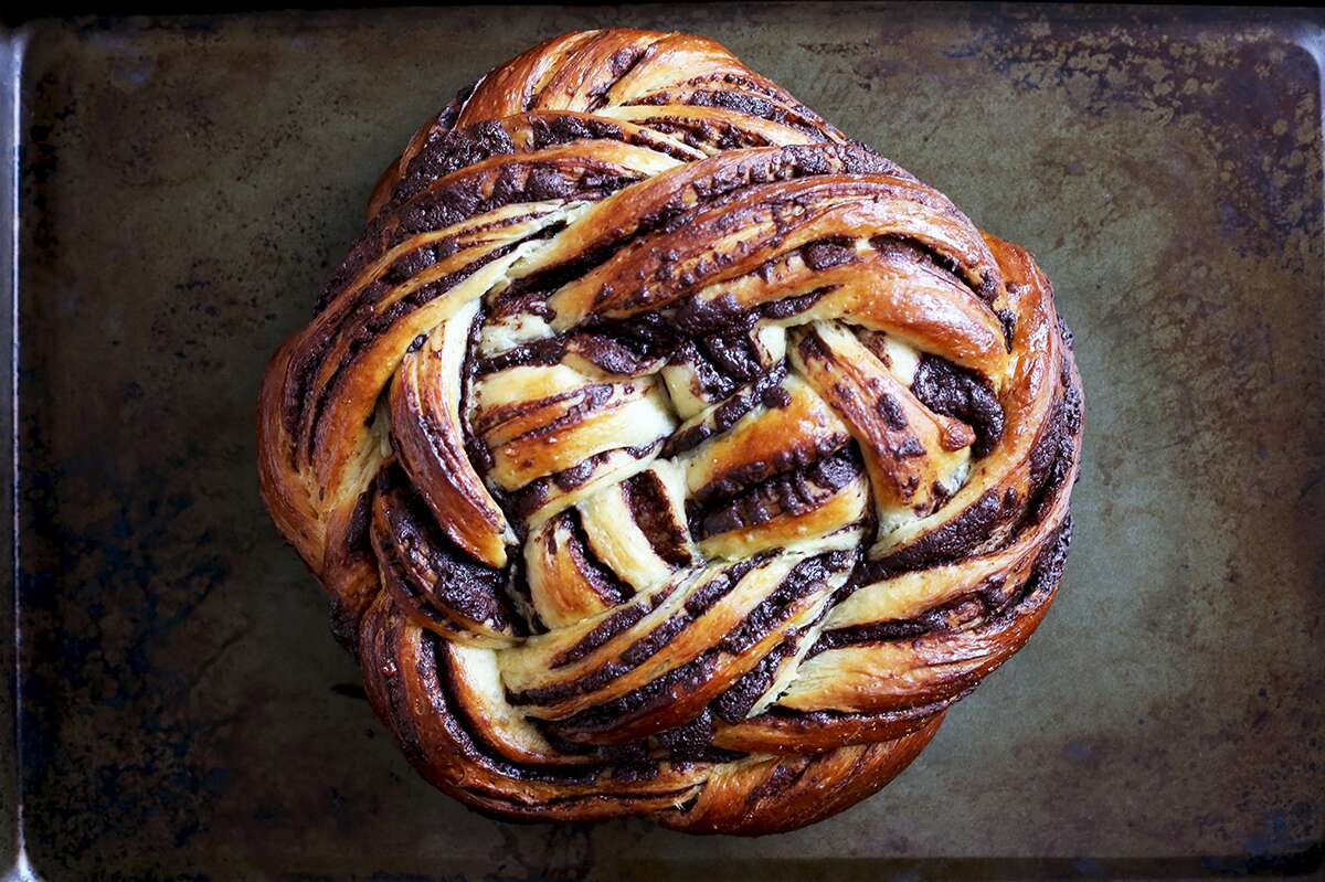 Shaping Babka via @kingarthurflour