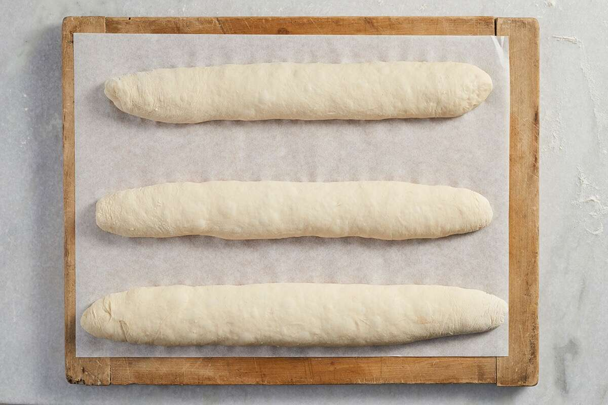 Classic Baguettes Bakealong via @kingarthurflour
