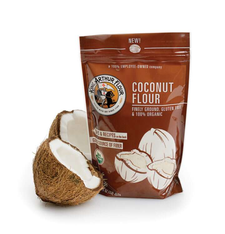Coconut Flour via @kingarthurflour