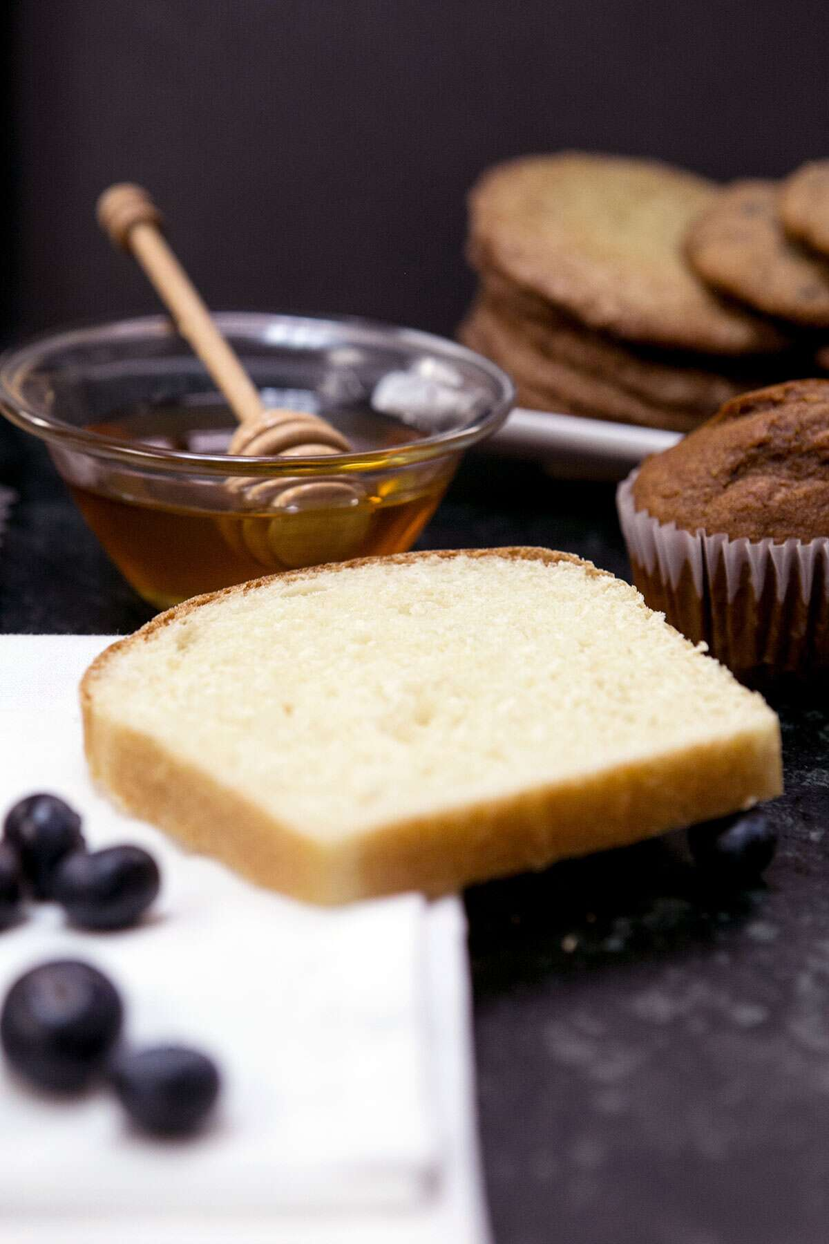 Baking with liquid sweeteners via @kingarthurflour