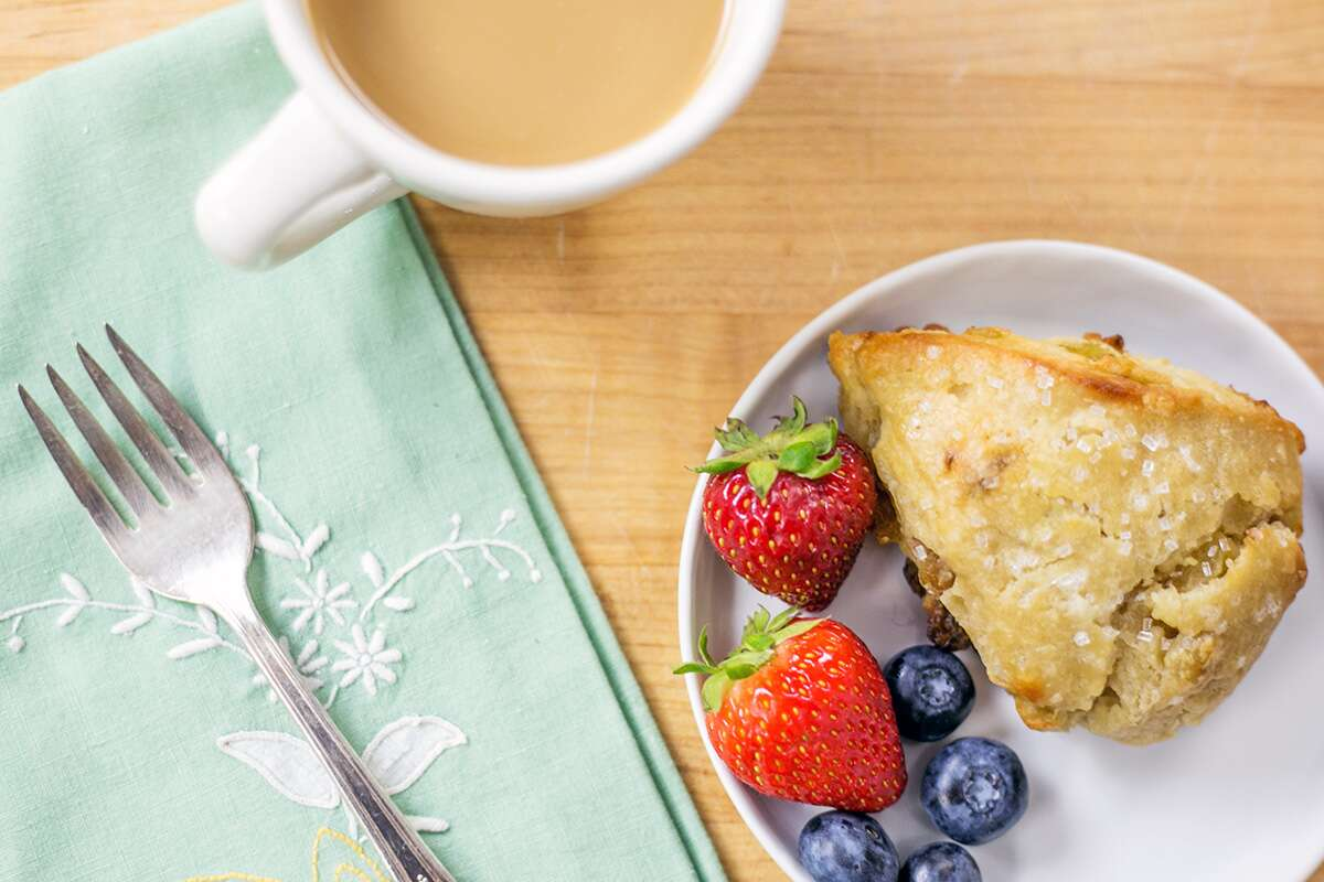 Dairy-free breakfast via @kingarthuflour