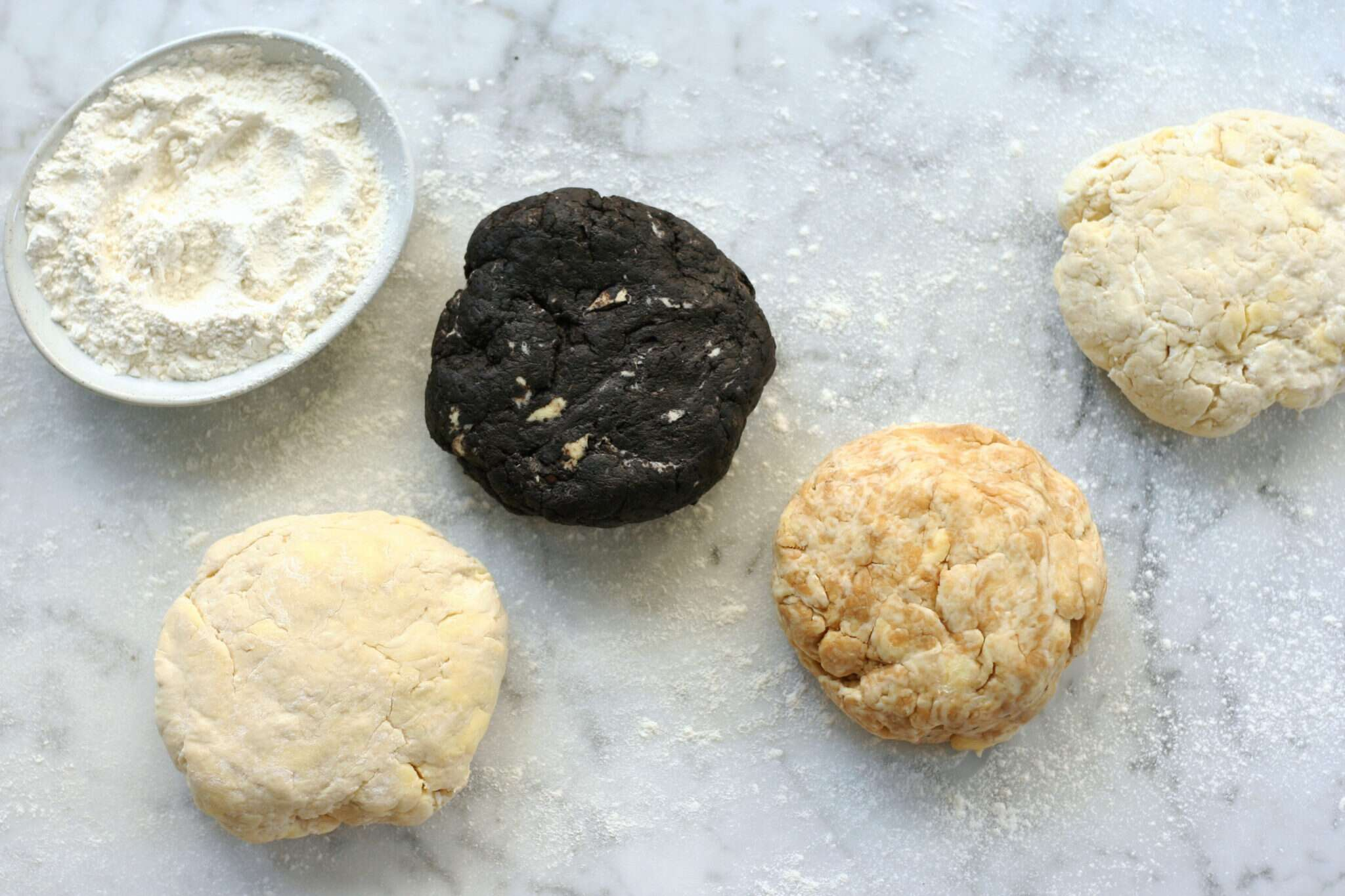 Flavored pie dough via @KingArthurFlour