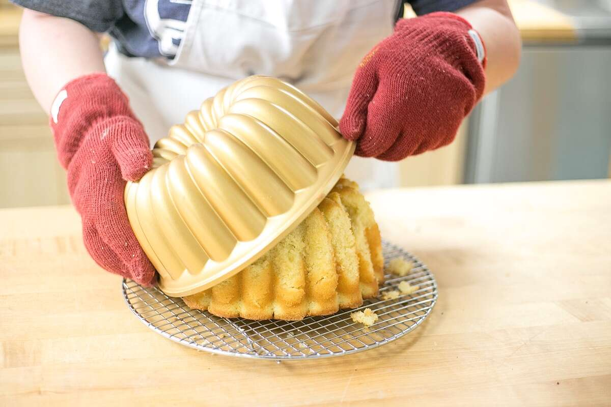 Stuck Bundt via @kingarthurflour