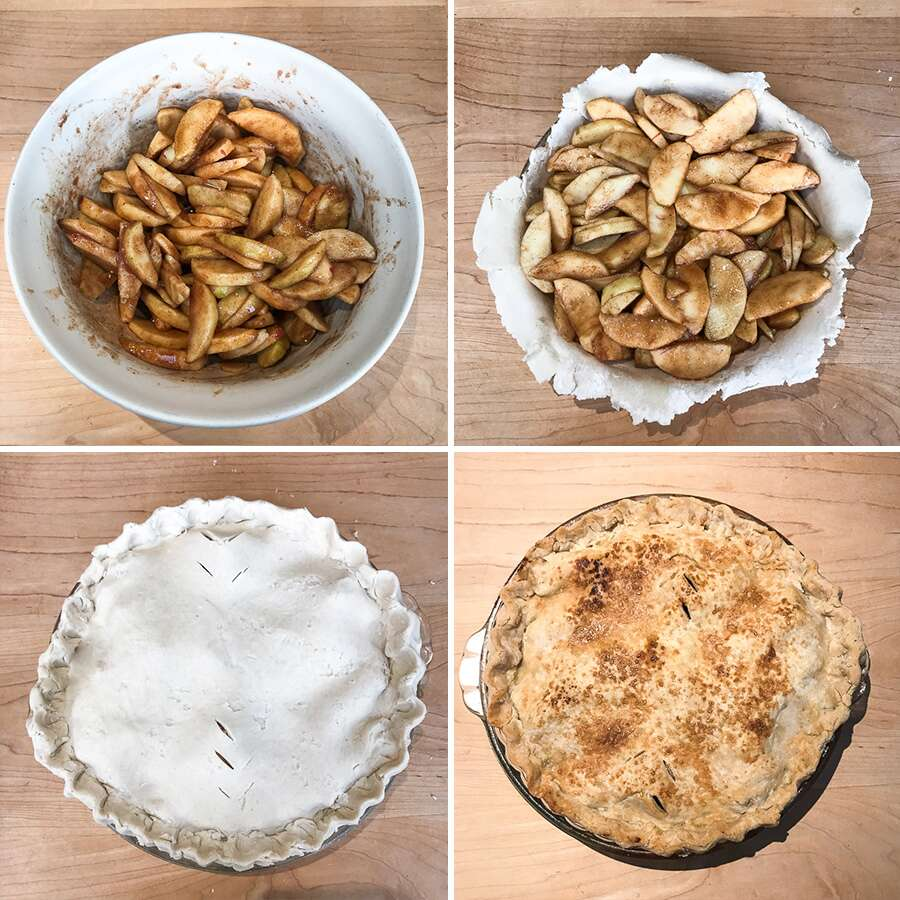 How to make a Classic Gluten-Free Double Pie Crust via @kingarthurflour