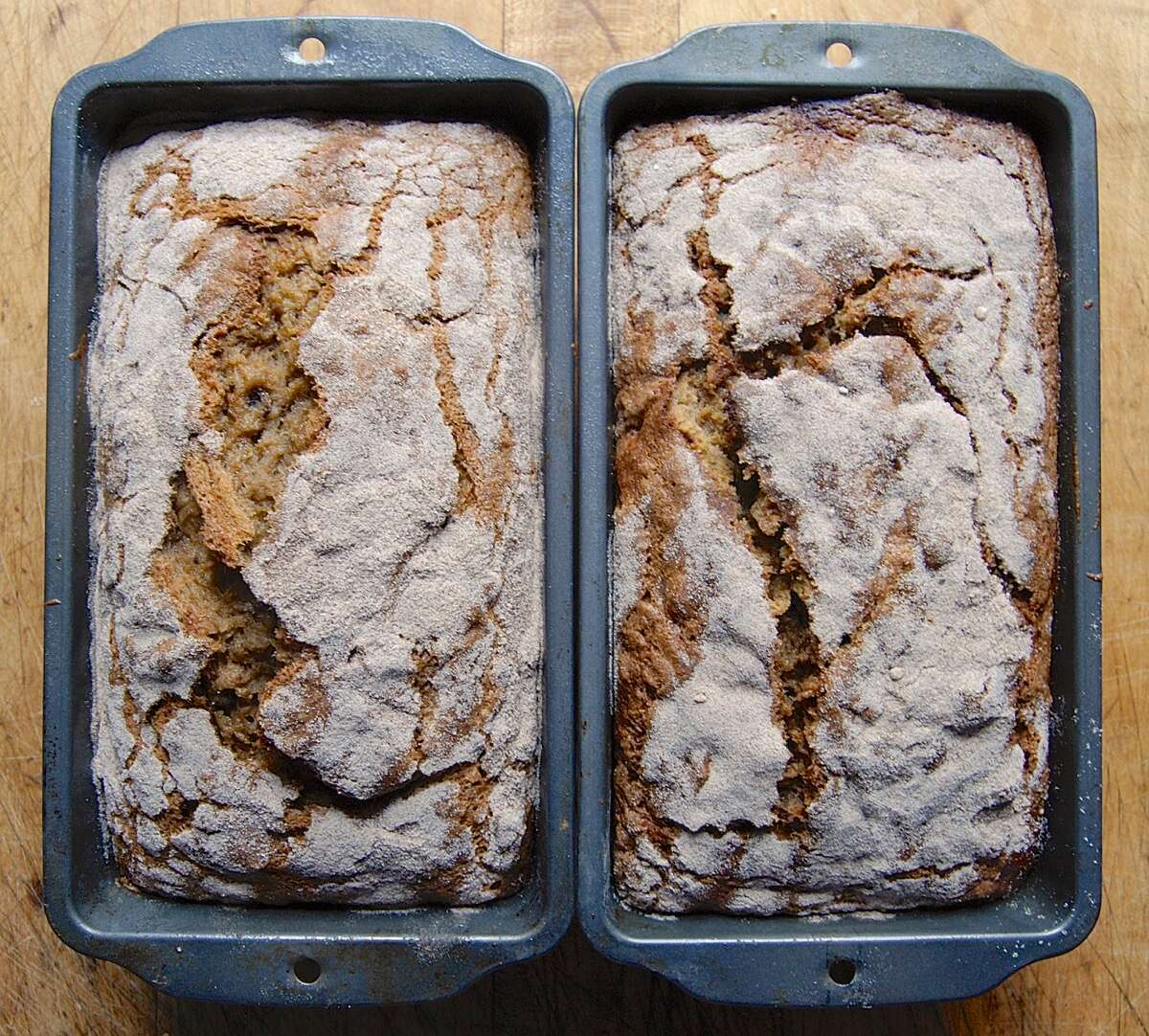 How to use whole wheat flour in quick bread via @kingarthurflour