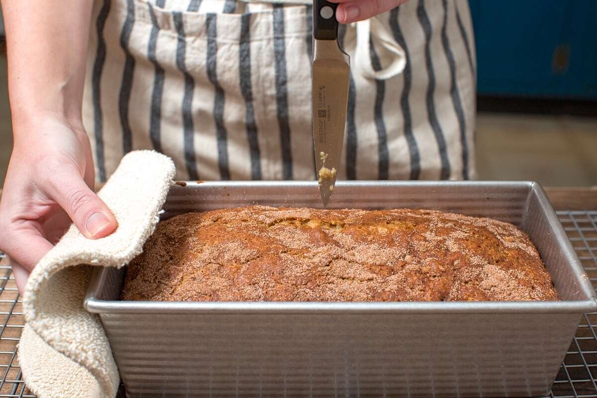 How to make Whole-Grain Banana Bread via @kingarthurflour