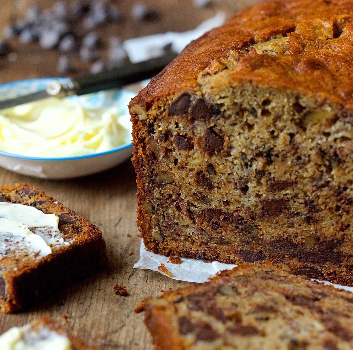 Whole-Grain Banana Bread via @kingarthurflour