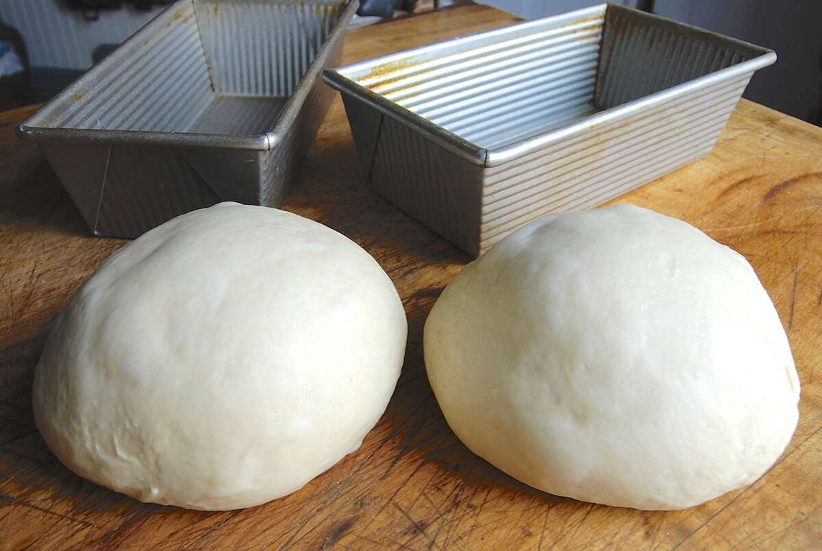Over-proofed dough via @kingarthurflour