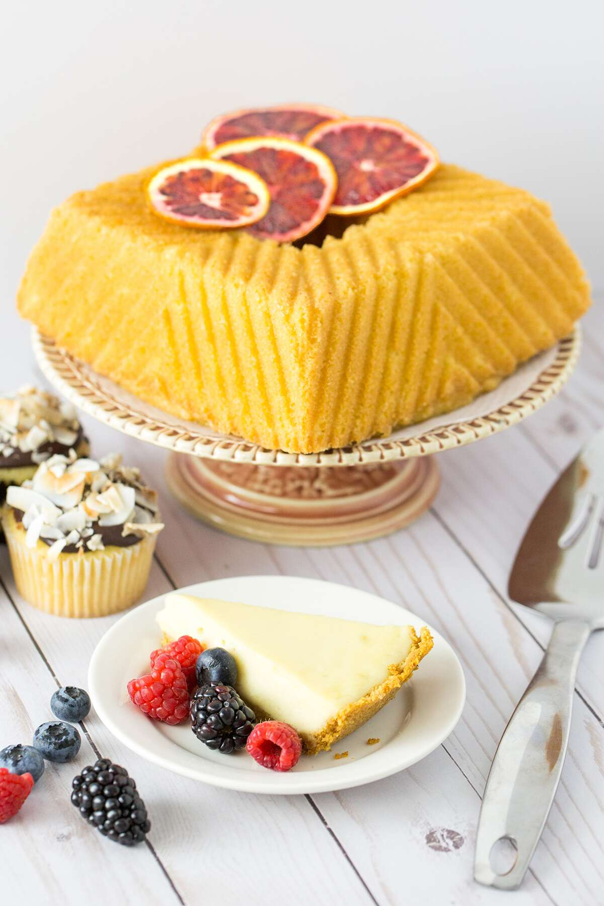 Dairy-free cake via @kingarthurflour