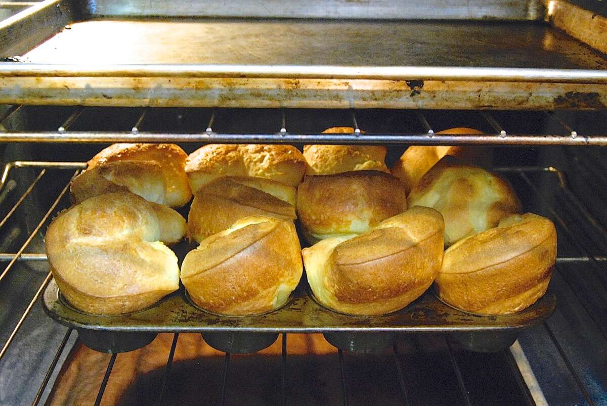 Popovers via @kingarthurflour