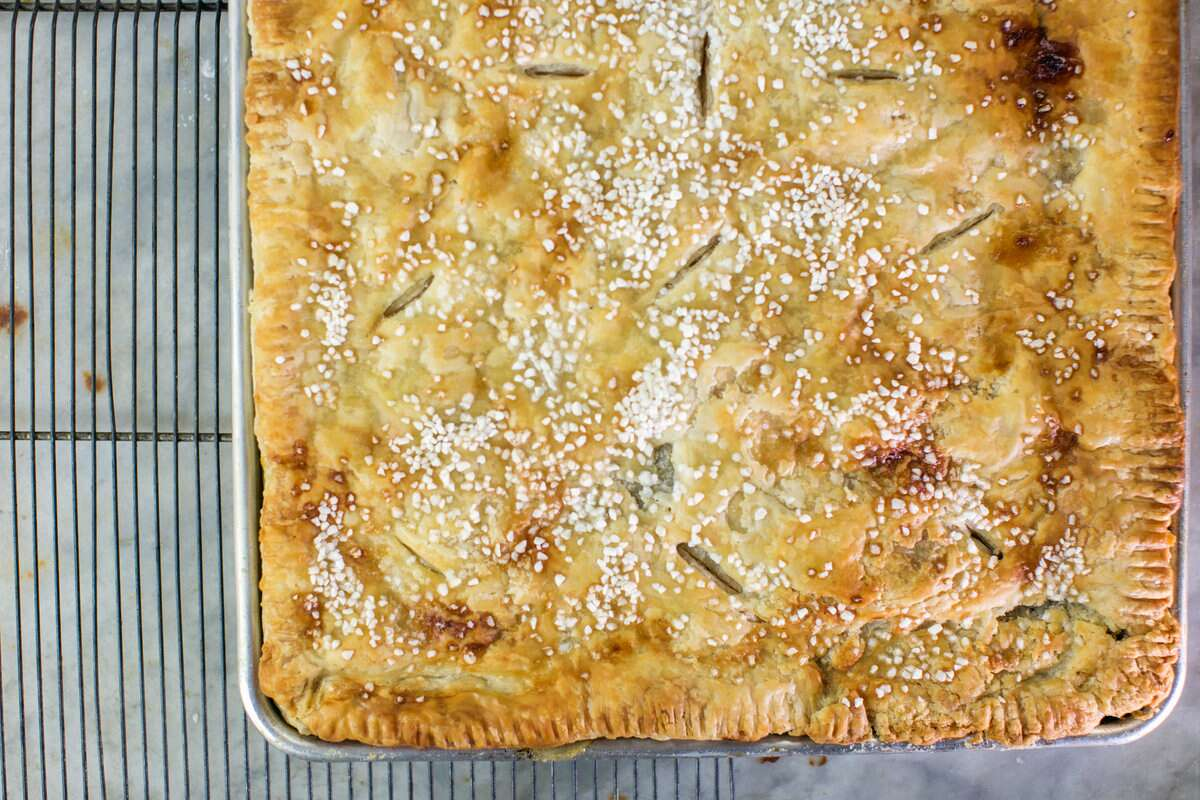Slab Pie via @kingarthurflour