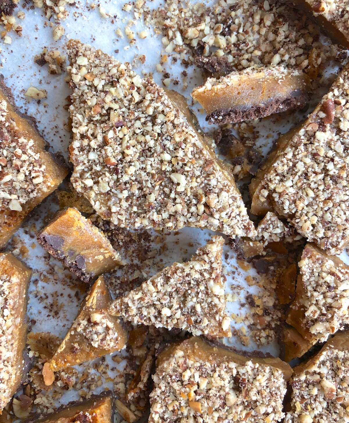 Tips for making English toffee via @kingarthurflour