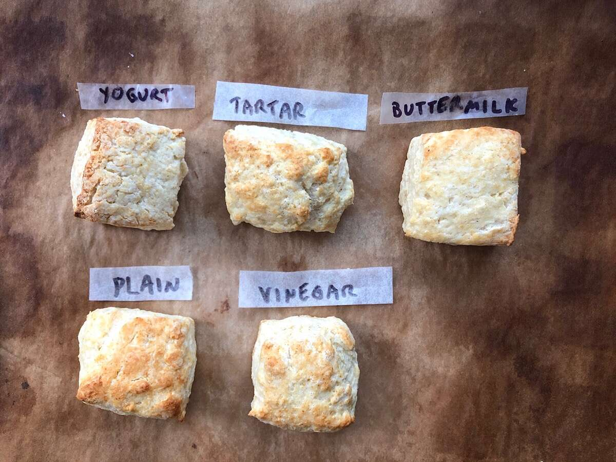 What to substitute for buttermilk via @kingarthurflour