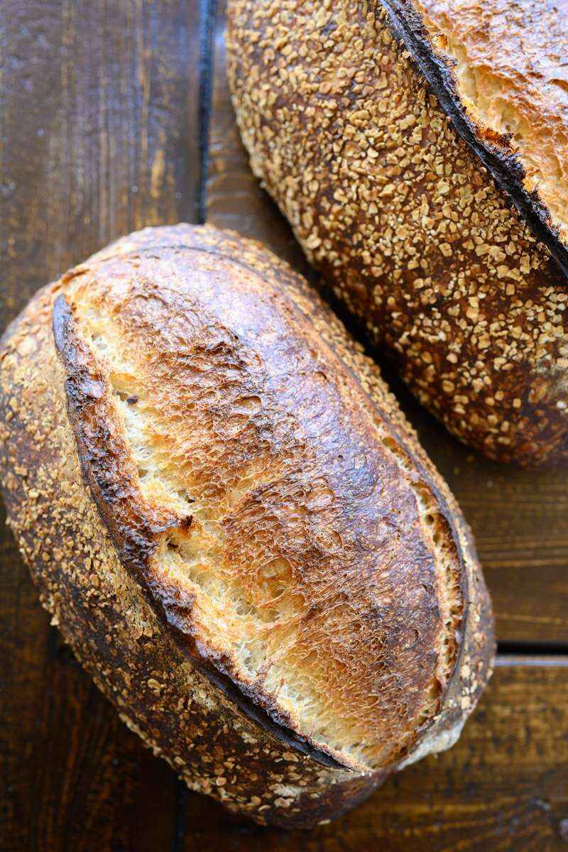 King Arthur's Naturally Leavened Sourdough bread