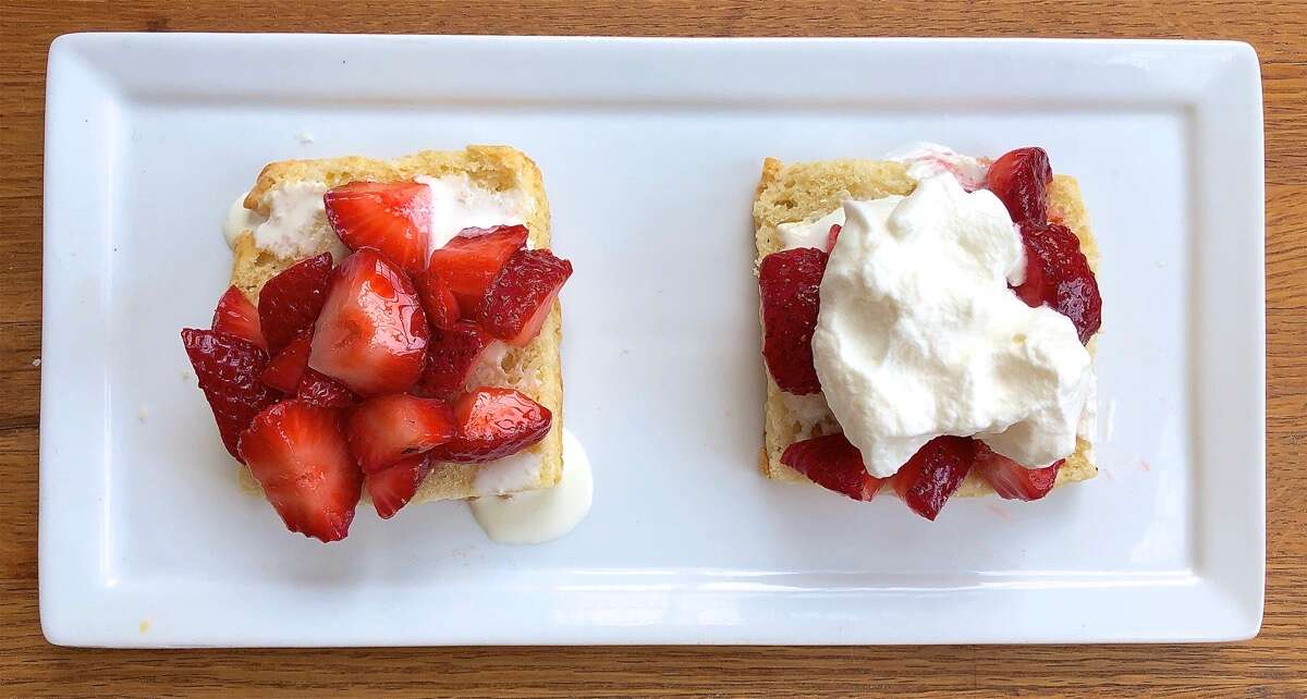 How to build great strawberry shortcake via @kingarthurflour