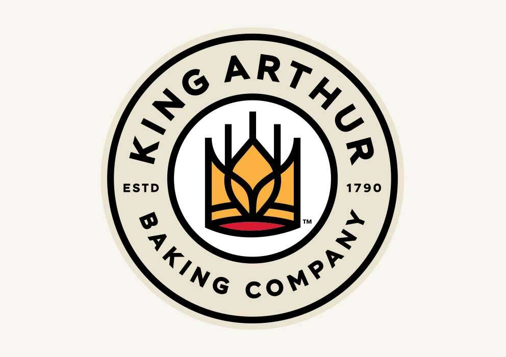 The King Arthur Baking Company wheat crown