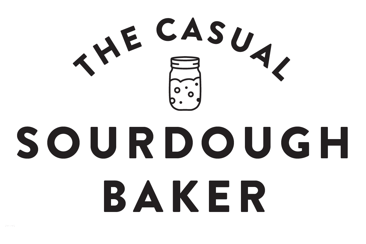 Logo for The Casual Sourdough Baker column