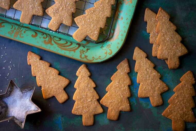 gingerbread cookies from the holiday classics recipe collection
