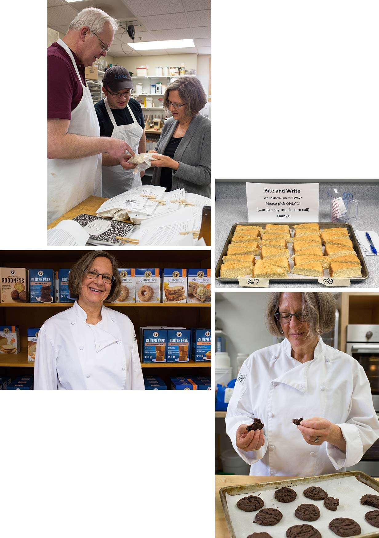 Sue Gray, head of King Arthur Flour's research and development team