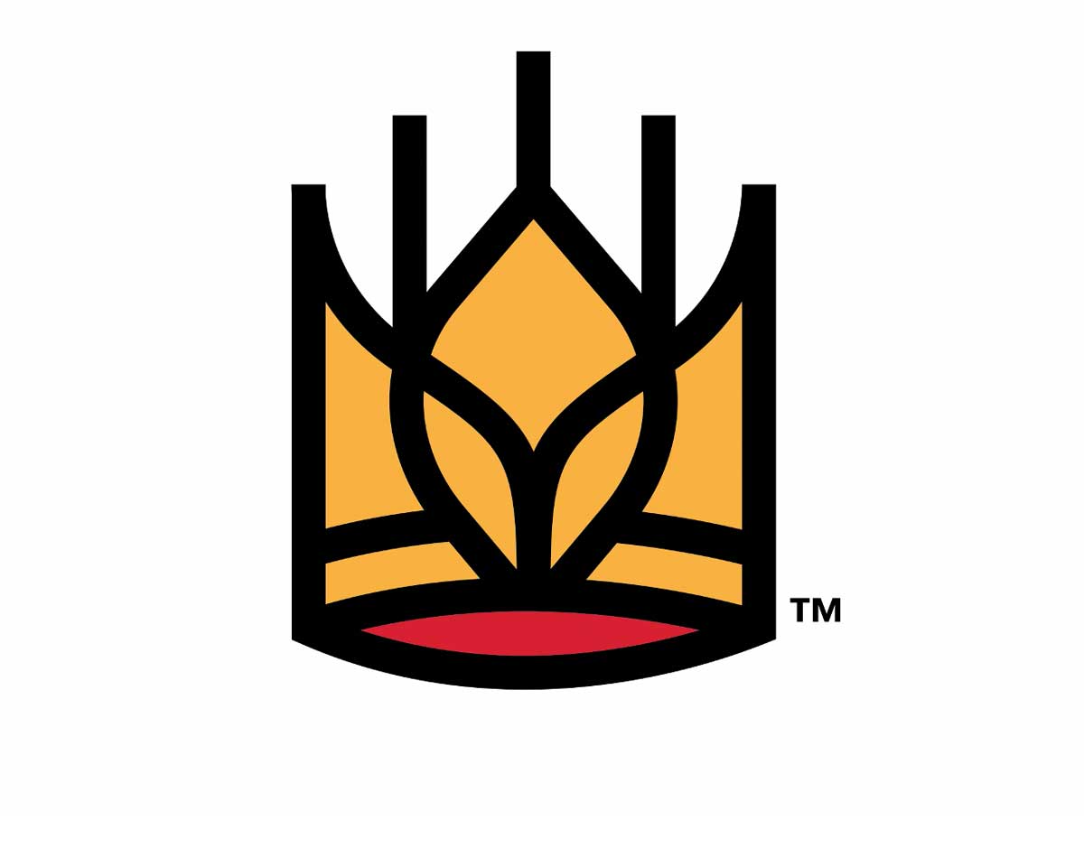 King Arthur wheat crown logo