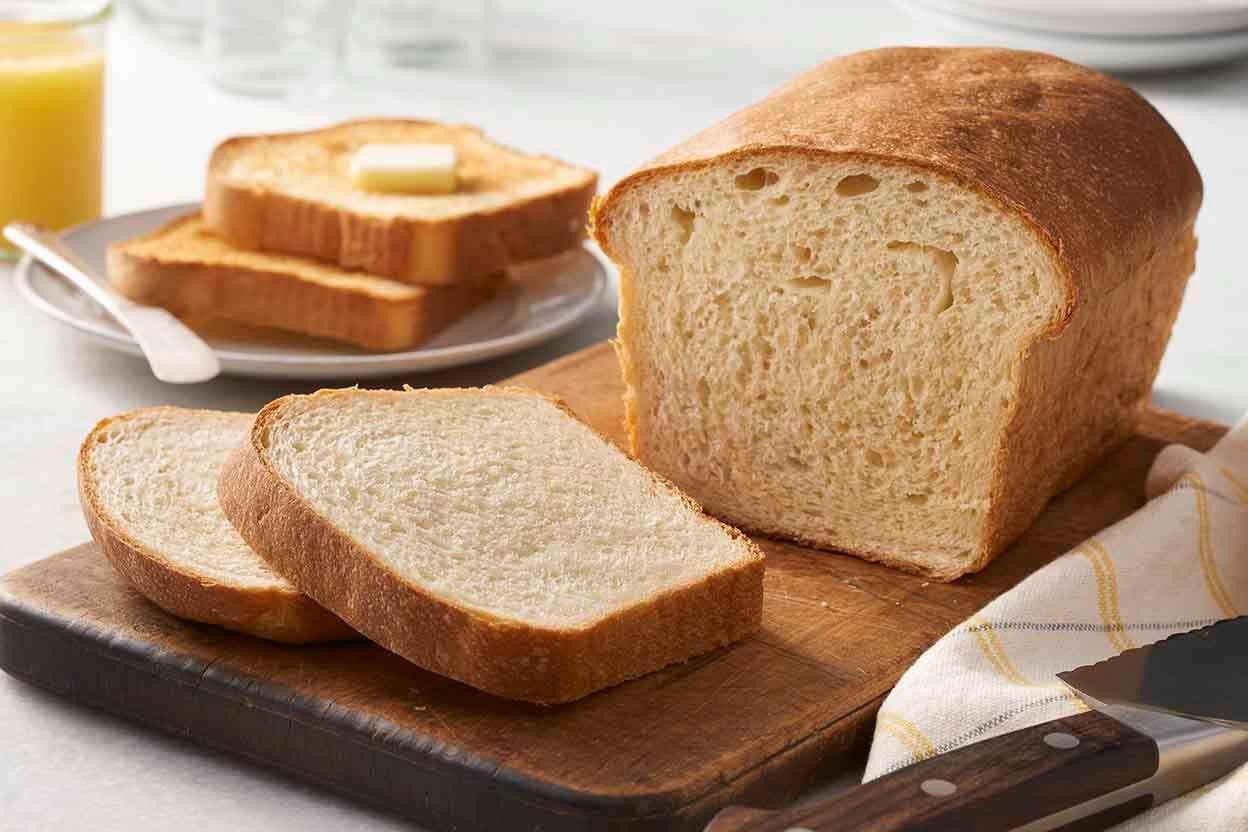 Walter Sands Basic White Bread King Arthur Flour