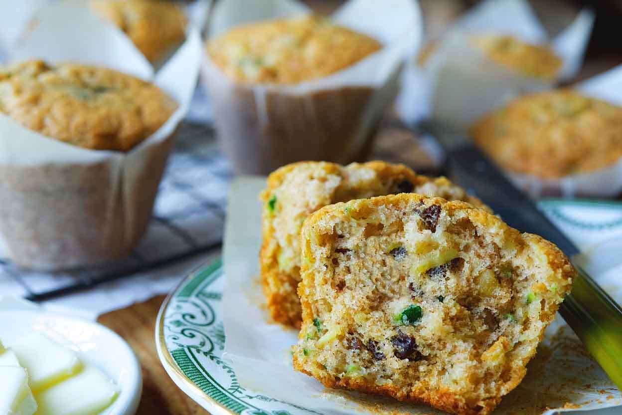 The Shipyard Galley's Zucchini Muffins
