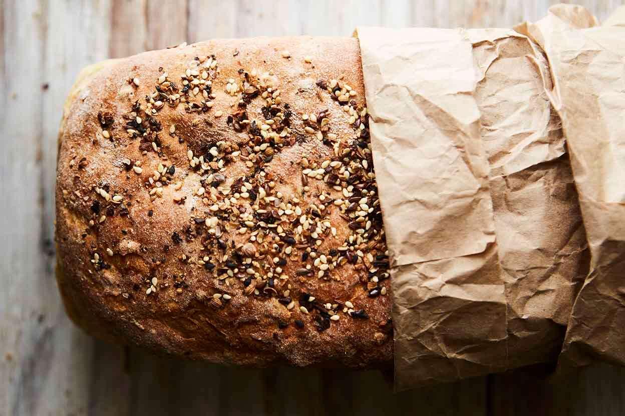 Clay S Multigrain Sourdough Sandwich Bread King Arthur Flour