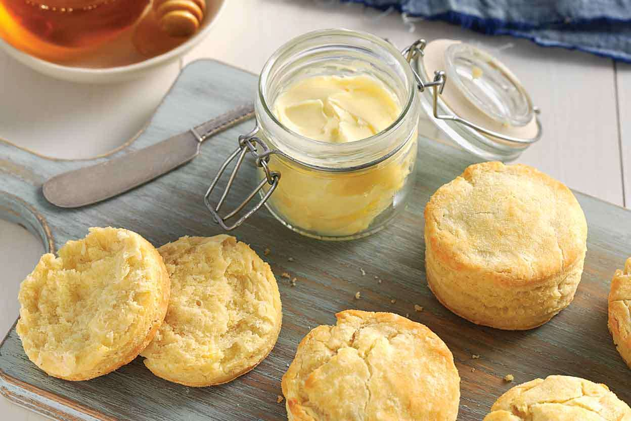 Gluten-Free Biscuits made with baking mix | King Arthur Flour