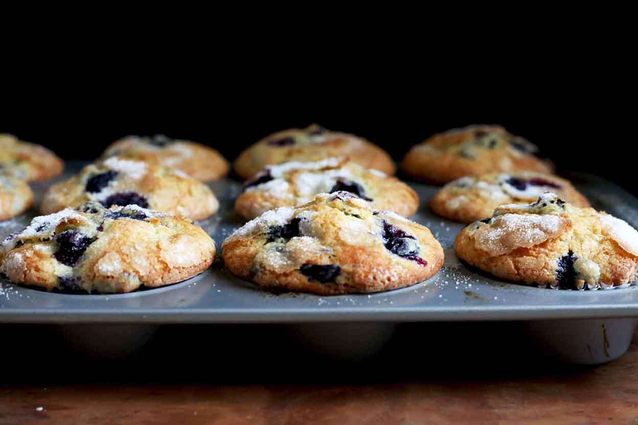 Famous Department Store Blueberry Muffins