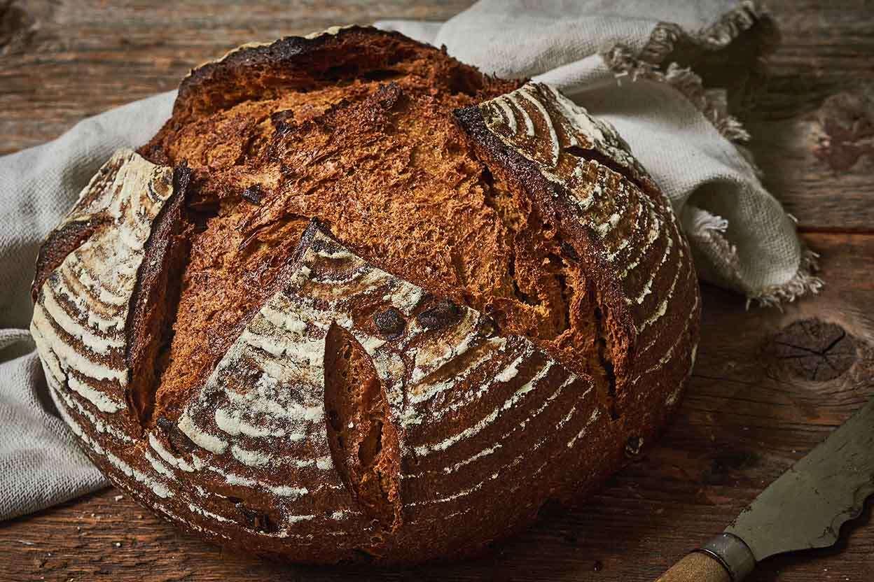 Sourdough Pumpernickel Bread King Arthur Flour