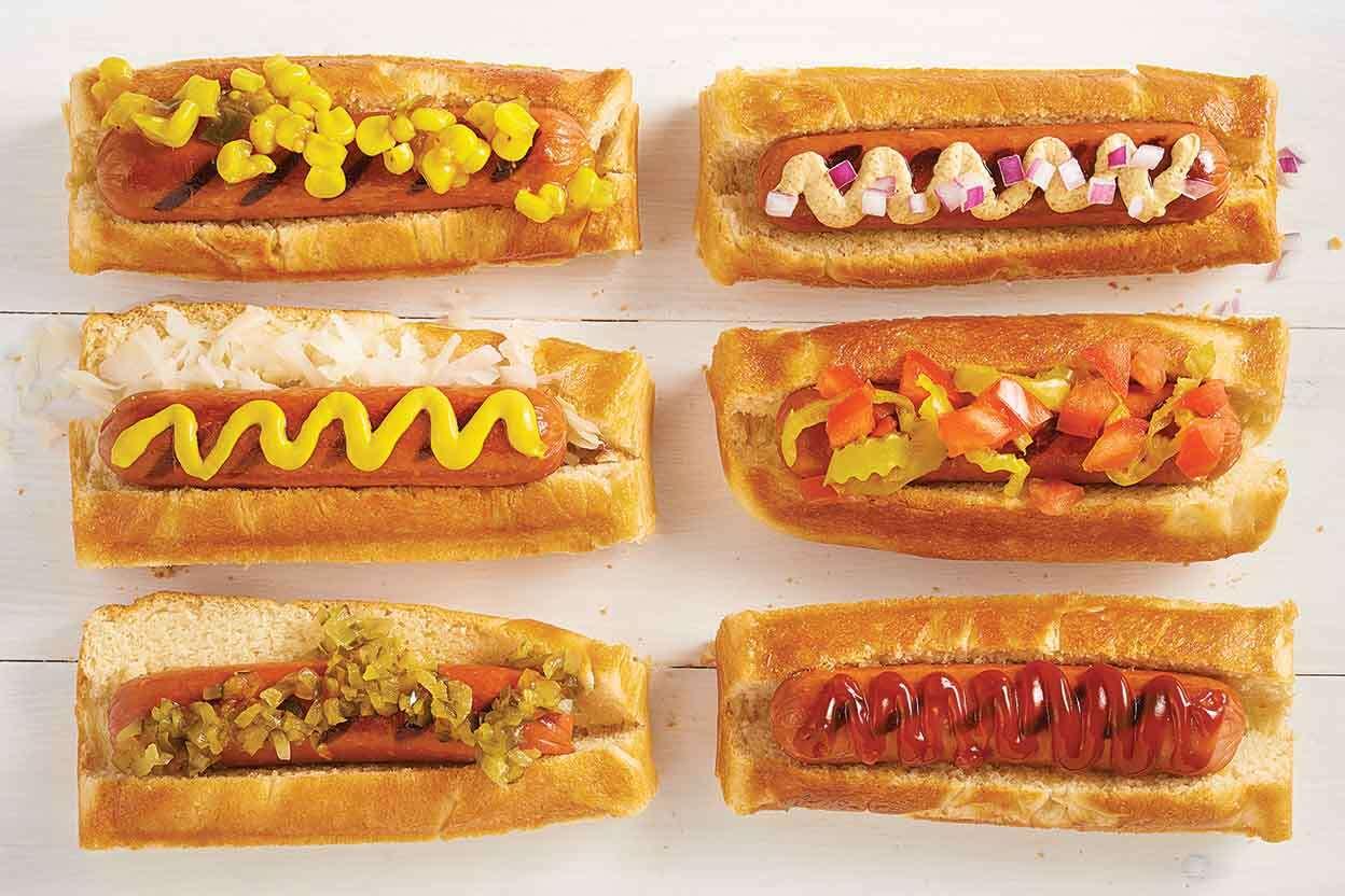 Buttery Hot Dog Buns King Arthur Baking