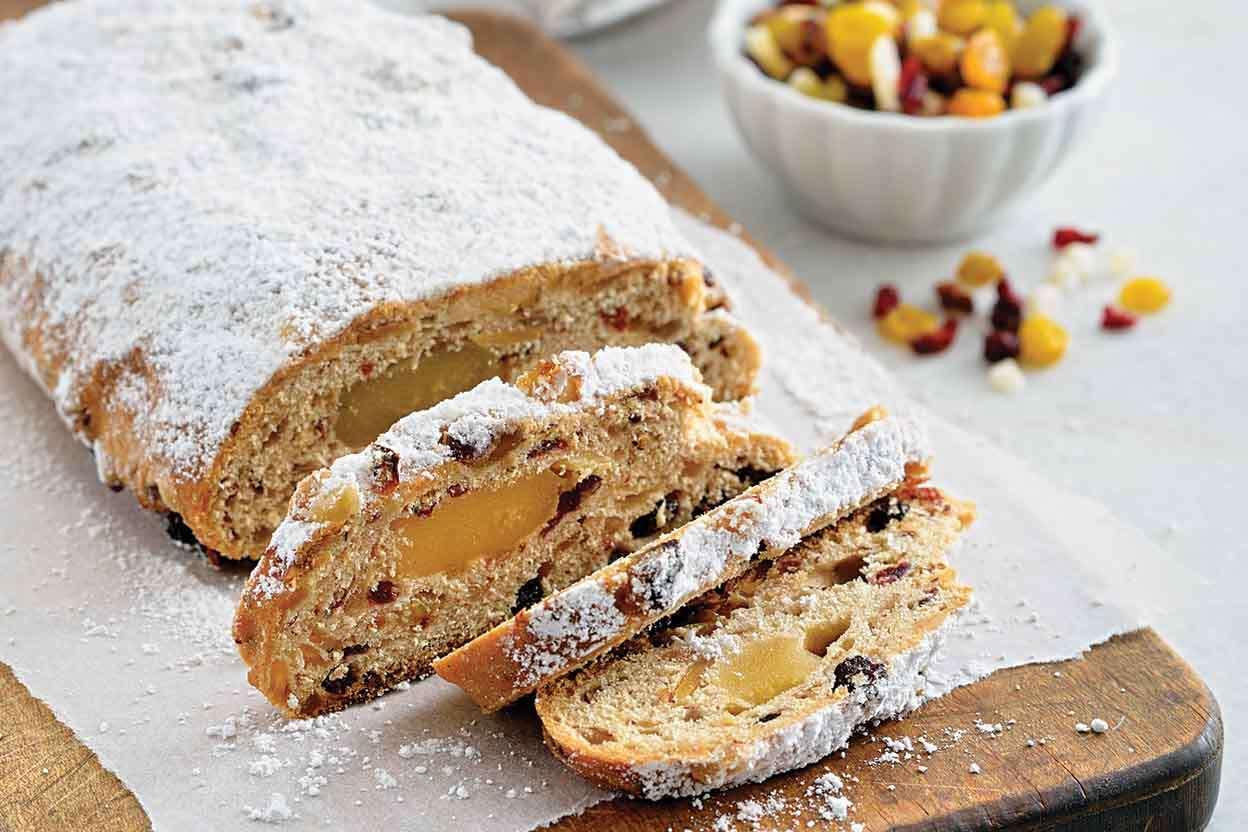 Christmas Bread.Christmas Stollen