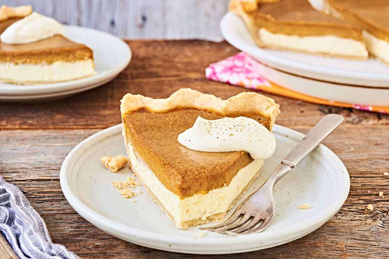 Pumpkin Cheesecake Pie King Arthur Flour