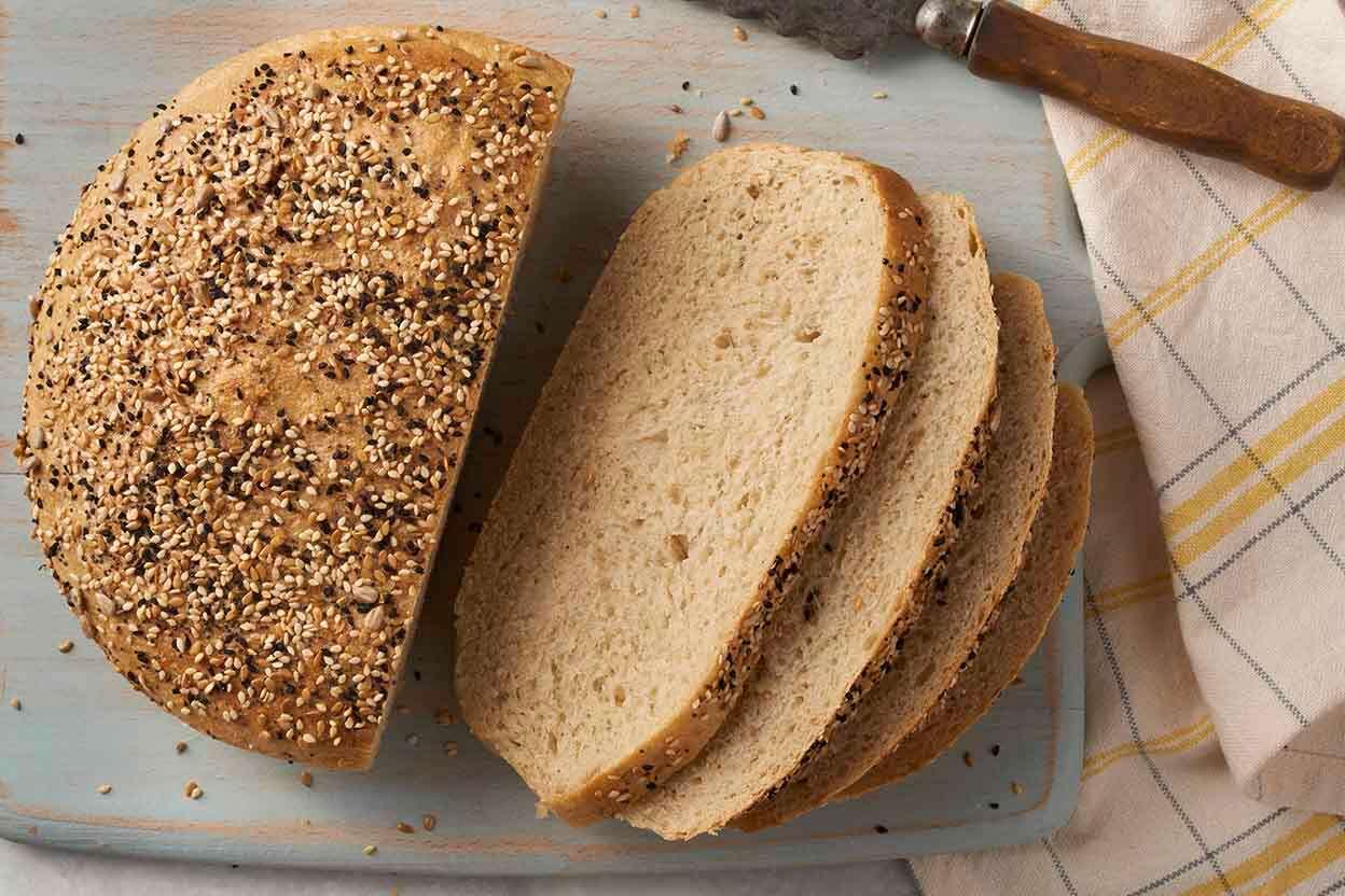 Chewy Semolina Rye Bread King Arthur Flour