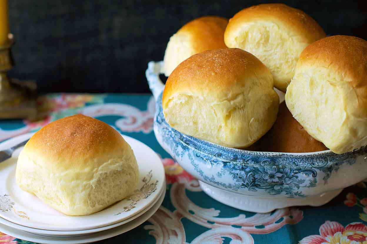 Amish Dinner Rolls King Arthur Baking