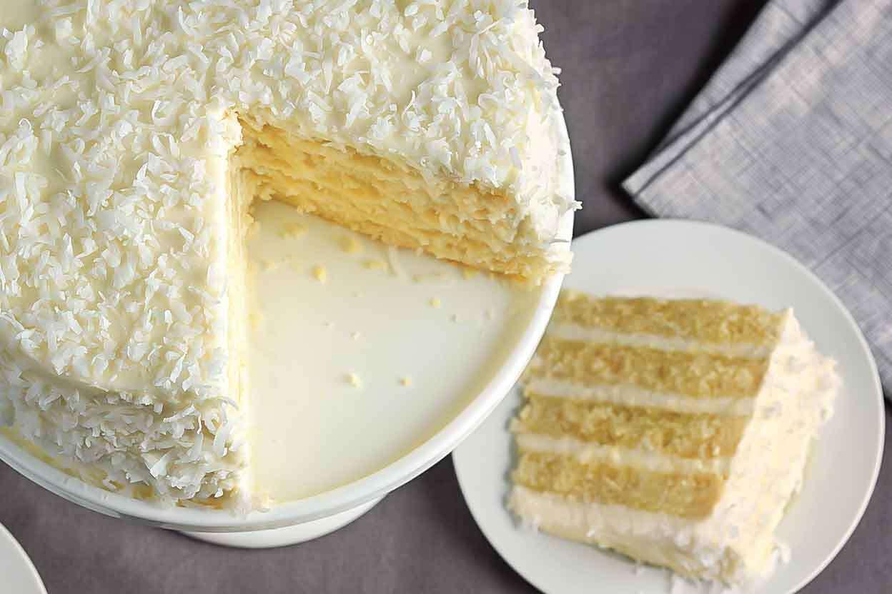 Coconut Cake King Arthur Flour