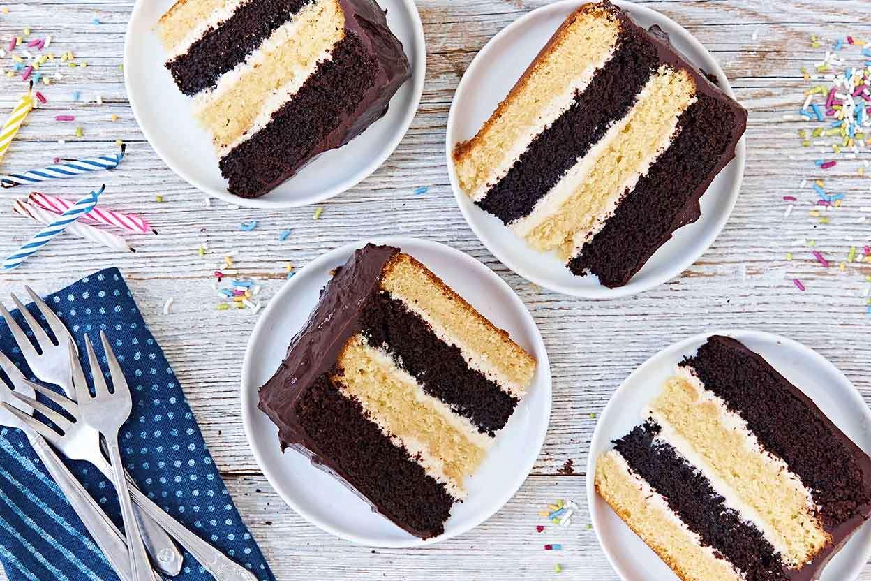 Choco Nilla Cake King Arthur Baking