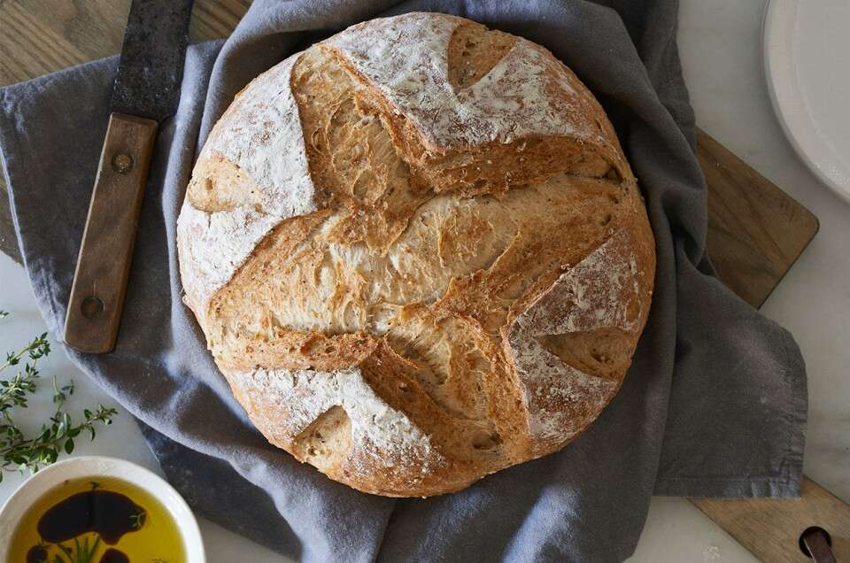 A Simple, Rustic Loaf