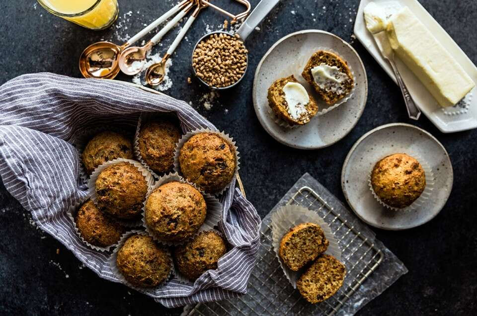 Zella Lane's 2-Week Bran Muffins