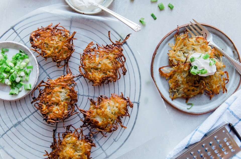 Easy-Does-It Latkes